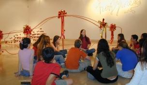 חינוך והדרכה במוזיאון